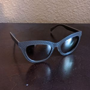 Marc Jacobs | Brown Woven Sunglasses